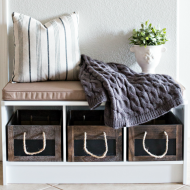 How to Create a Makeshift Mudroom