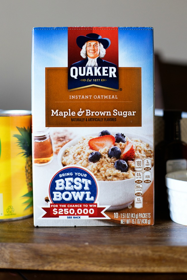 "Create your ""Best Bowl"" recipe for a hearty breakfast with Quaker® Oats!"