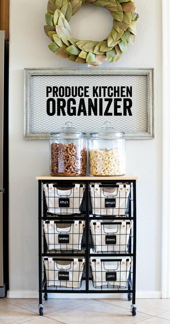 Produce Kitchen Organization