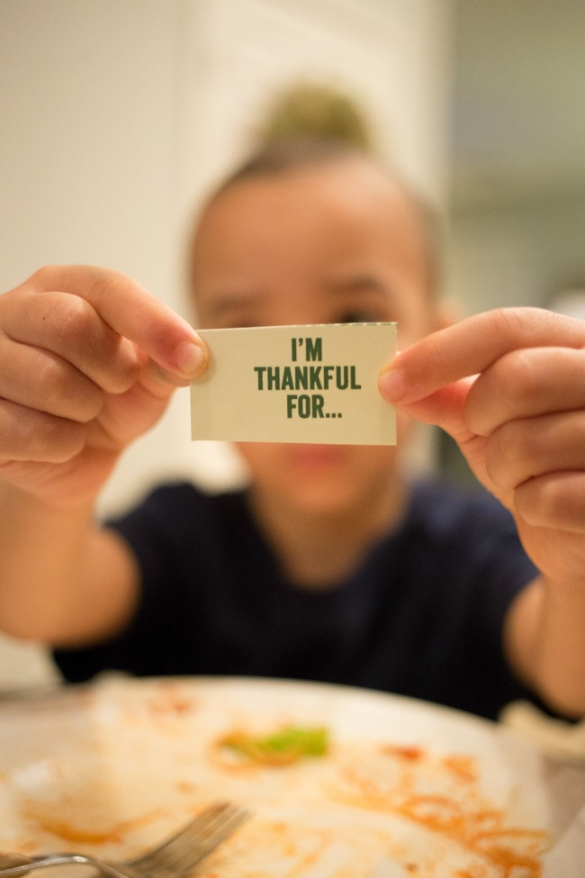 Tasty table topics are a great way to get your family talking at dinner!