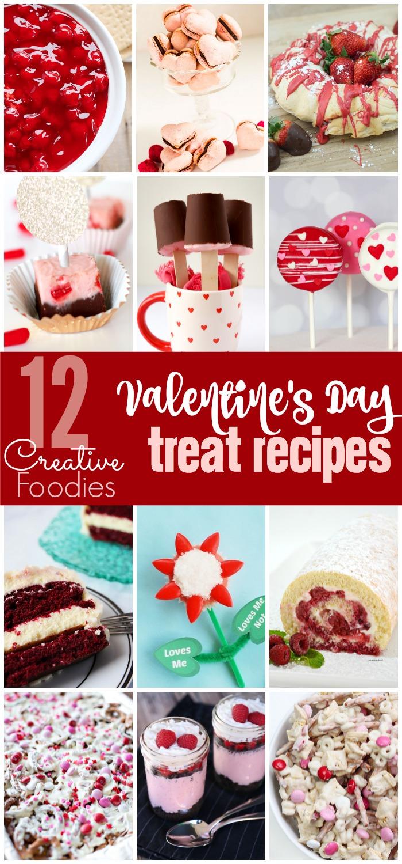So many cute and creative Valentine's Day Treat Recipes!