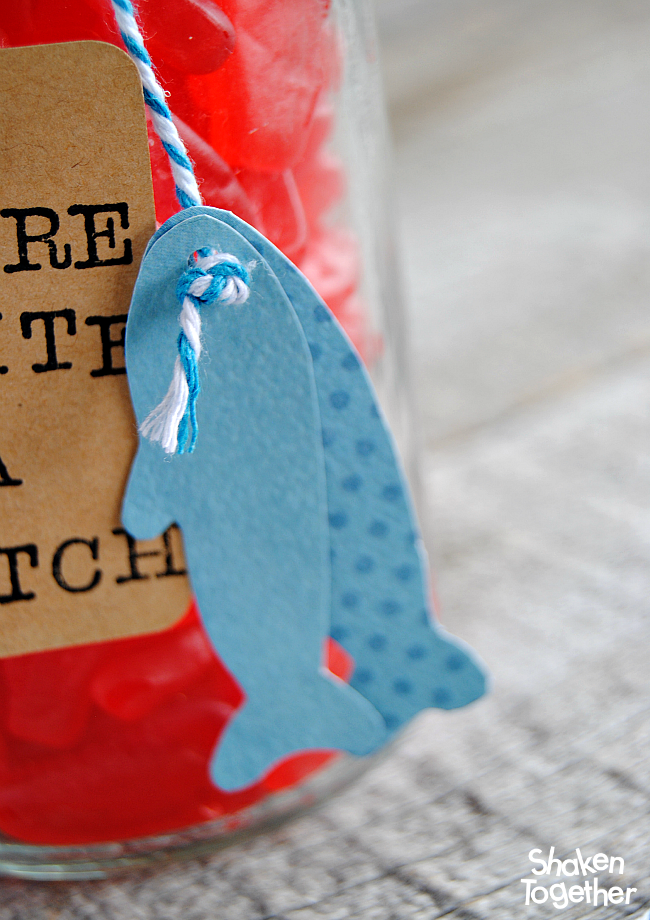 Let your guy know that he is quite a catch with this easy Swedish Fish Valentine's Gift for Guys!
