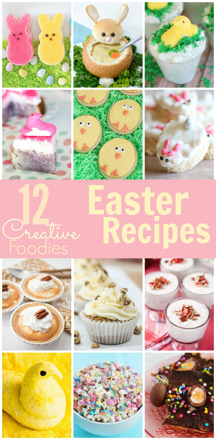 12 Creative Easter Recipes