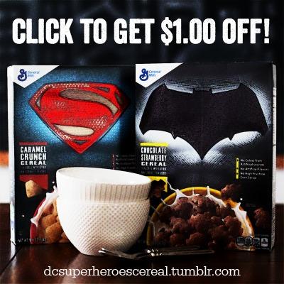General Mills Super Hero Cereal COUPON