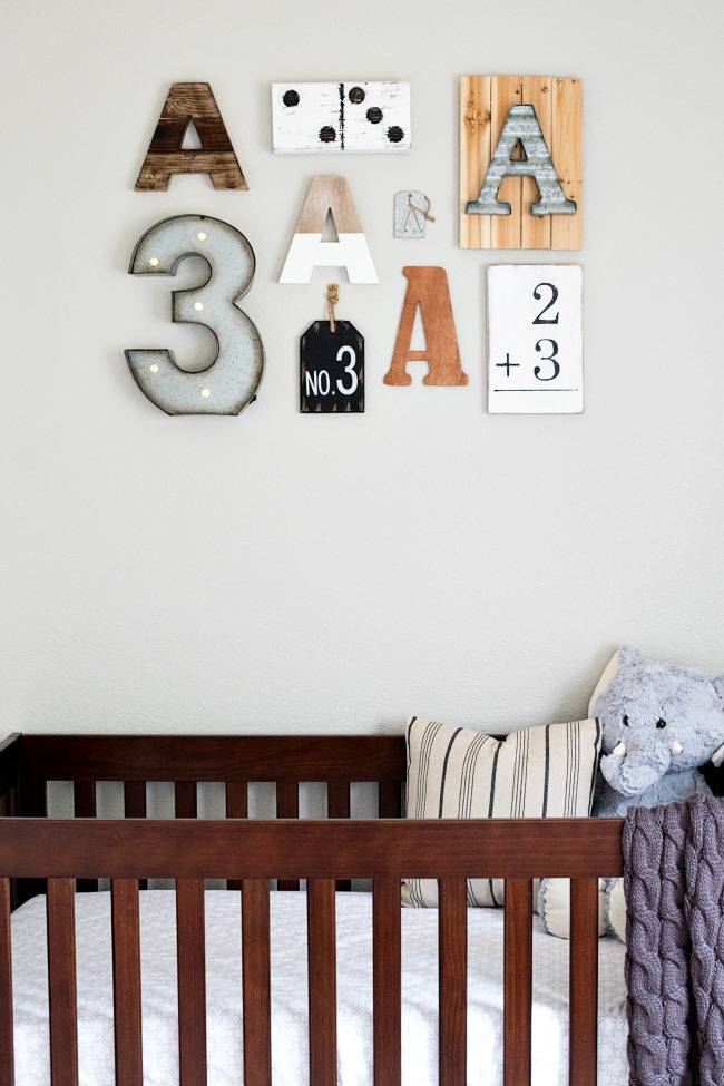 Tips on how to create a personalized Nursery Gallery Wall!
