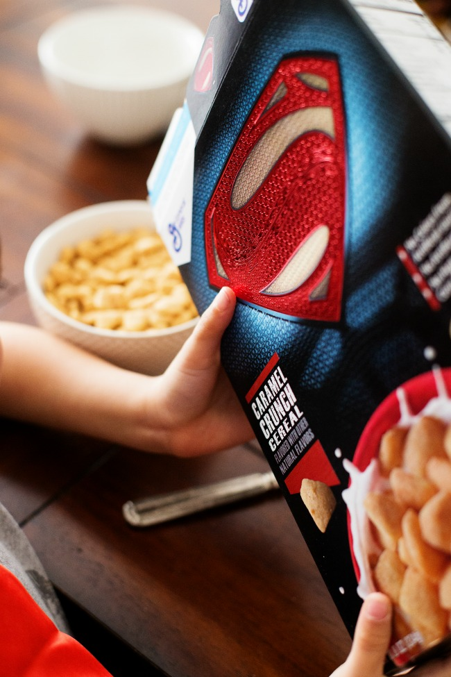 Give your kiddos a Superhero Breakfast with General Mills' new Super Hero cereals!