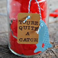 Swedish Fish Valentine's Gift