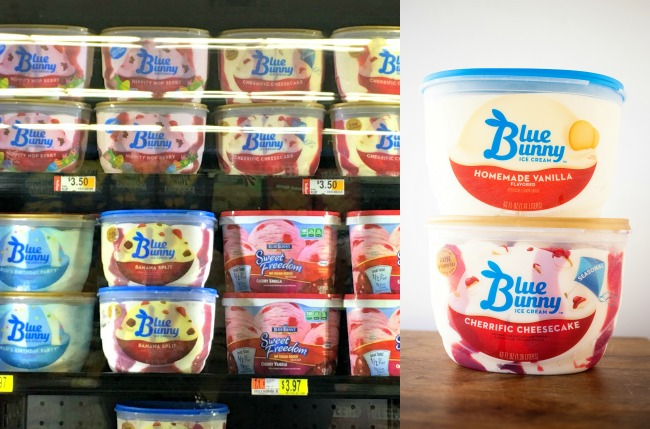 Blue Bunny Seasonal Ice Cream at Walmart
