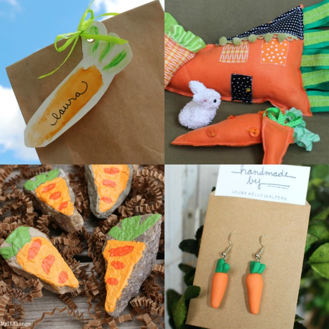 So many cute carrot crafts!