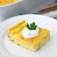 Chile Egg Puff Casserole