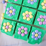 Easy Flower Patch Fudge
