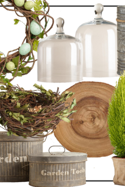 Beautiful Farmhouse Easter Decor. Get the look at Cost Plus World Market.