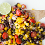 Black Bean Salsa Salad