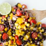 Black Bean Salsa Salad