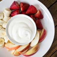 This Sweet Cream Fruit Dip is perfect for summer fruit! Whip some up for your afternoon snack or serve at your next soiree!
