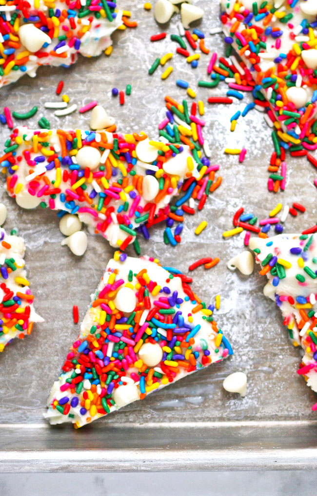 Rainbow Frozen Yogurt Bark A Night Owl Blog