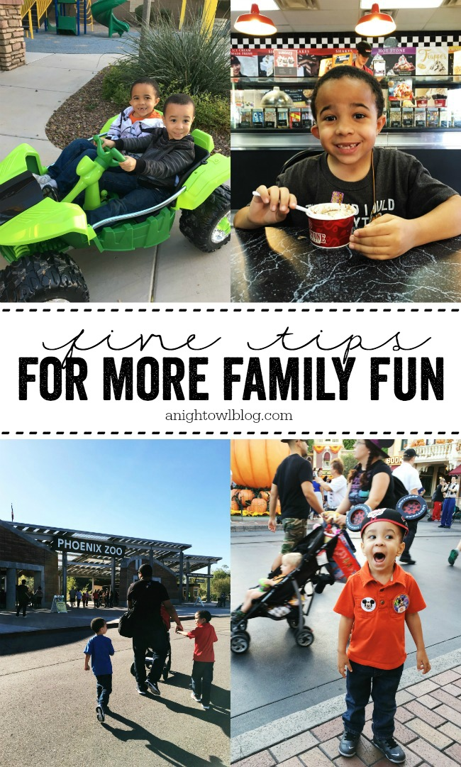 5 Tips for More Family Fun