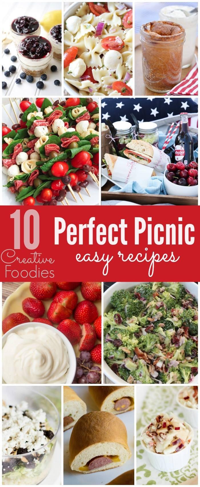 10 Perfect Picnic Recipes