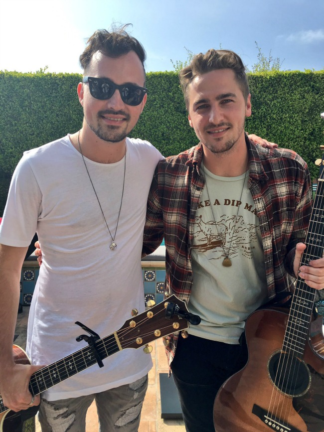 Heffron Drive performs at the #CelebrateOutdoors Summer Beach Party with Cost Plus World Market.