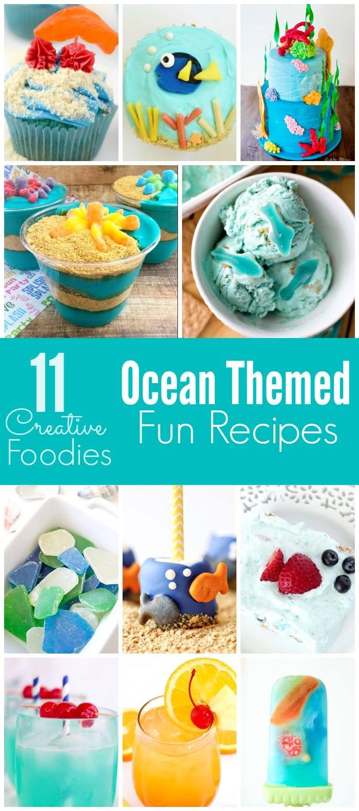 A fun collection of fun Ocean Themed Recipes!
