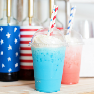 Whip up these fun and festive Patriotic Italian Sodas for the 4th of July or anytime you want a refreshing summer treat!