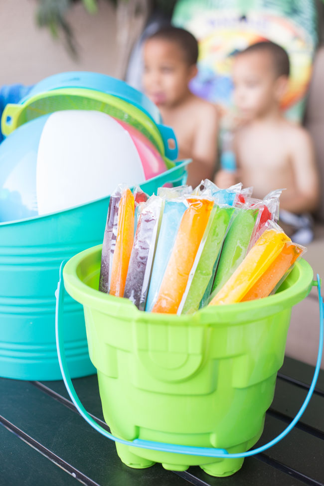 Perfect for summer - throw a fun and easy Pools and Popsicles Party!