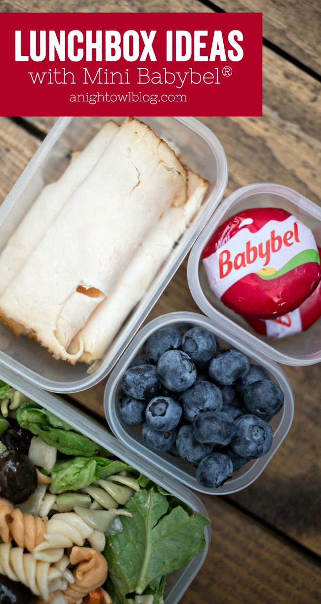 Stuck in a rut? Try these fresh Lunchbox Ideas with Mini Babybel® to your school lunch routine!