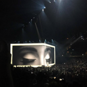 hello: a first-hand account of Adele in concert