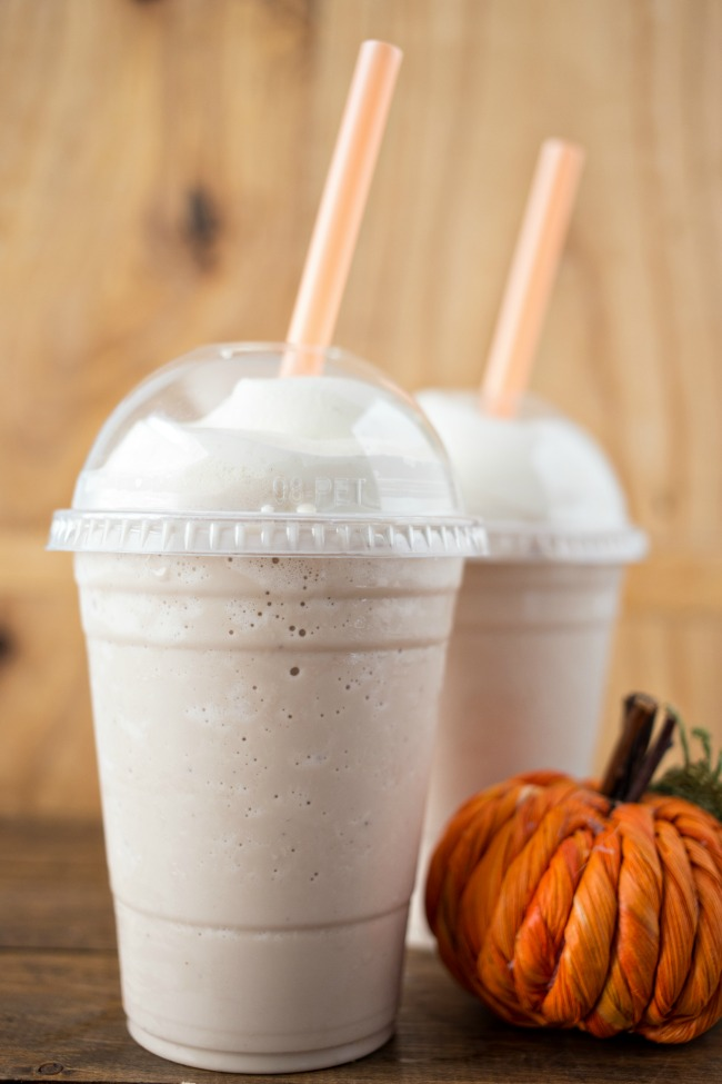 This Pumpkin Spice Frosted Coffee is the perfect pumpkin-flavored coffee treat to kick off fall!