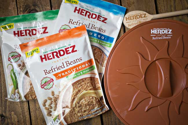 Herdez Instant Refried Beans are a delicious way to add flavor to your favorite meals!