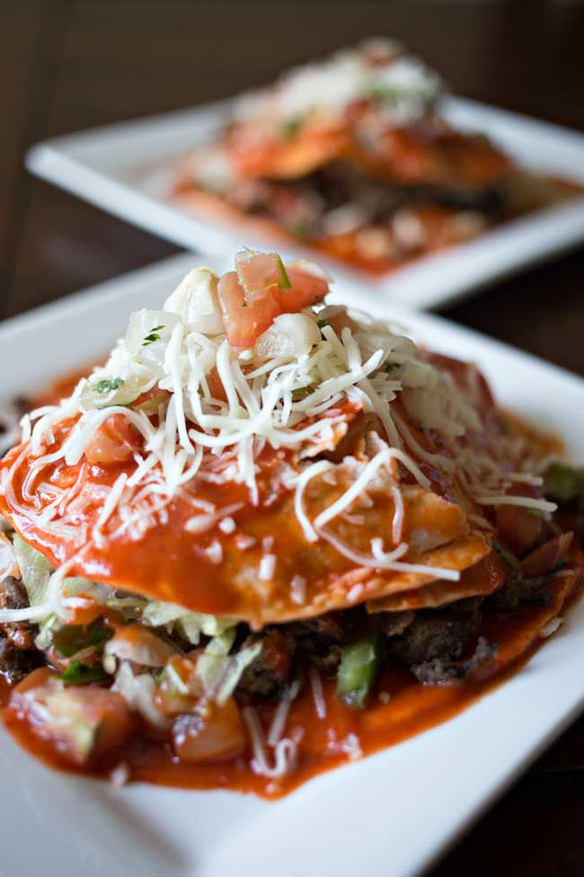 These Sonoran Stacked Tacos are delicious and easy to make! A family favorite!
