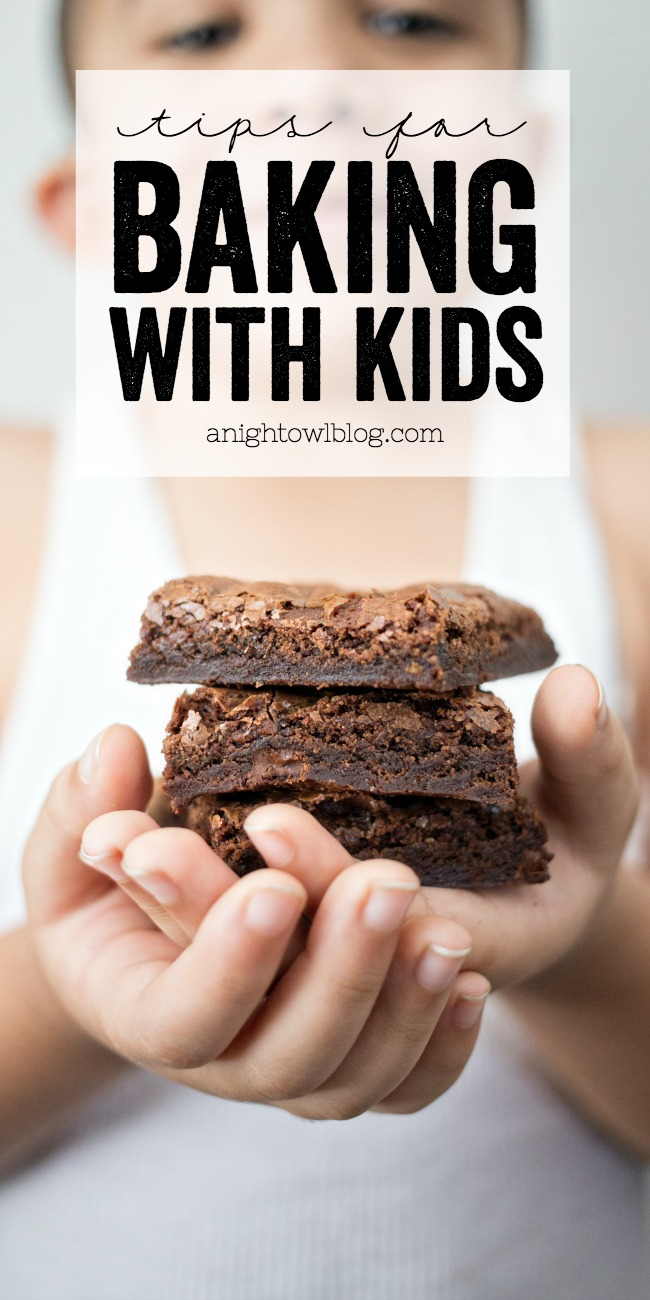 Great tips for baking with kids!
