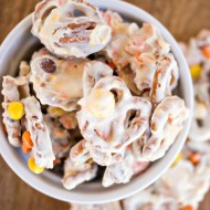 Fall Pretzel Candy