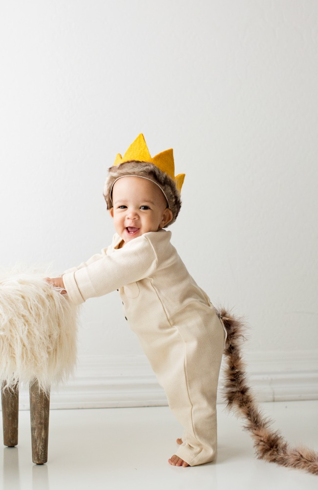 Diy where the wild things are costume a night owl blog this diy where the wild things are costume is adorable easy and no sew solutioingenieria Choice Image