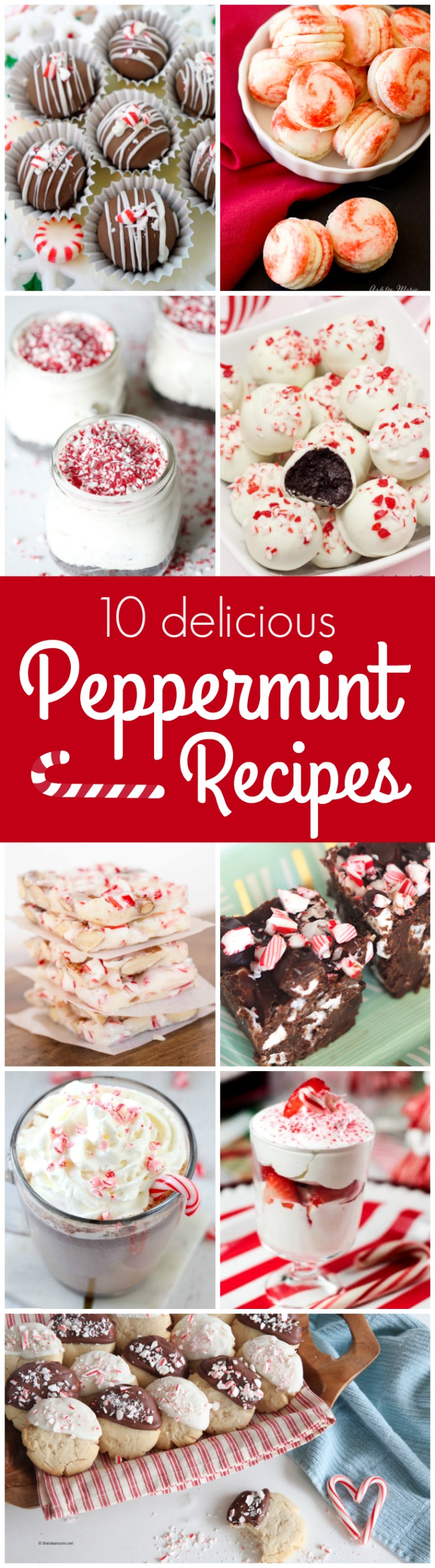 10+ Peppermint Recipes perfect for the holidays!
