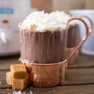 Crock Pot Salted Caramel Hot Chocolate