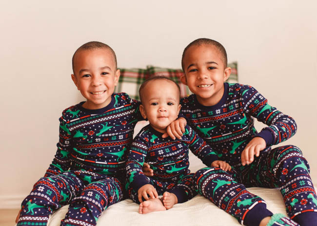 matching christmas pajamas is one of our favorite holiday traditions and this year we found the