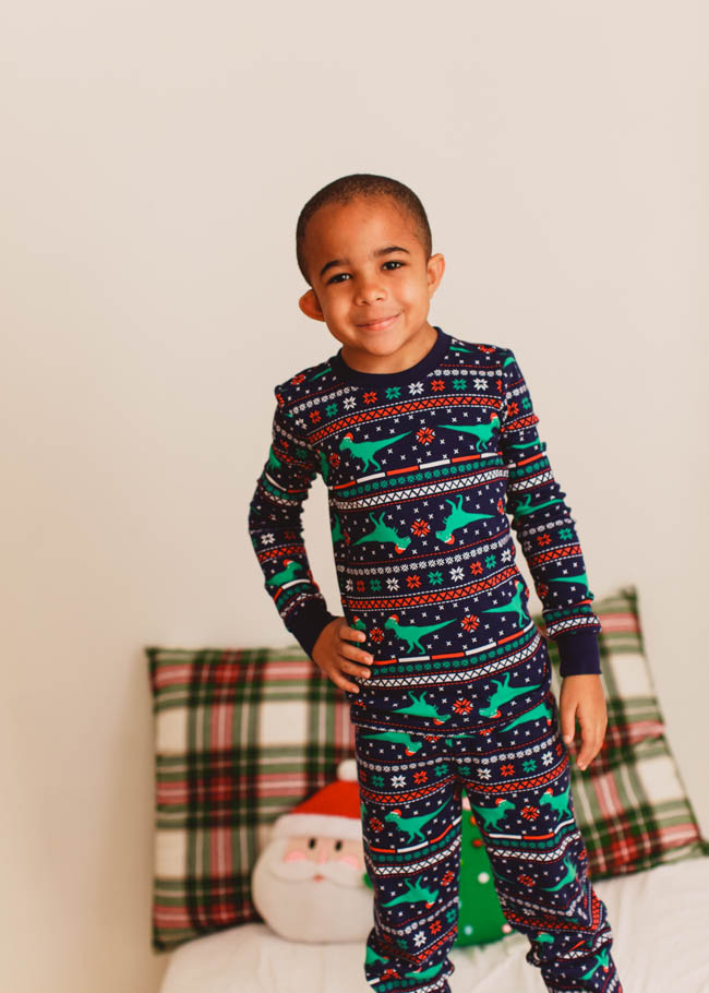 Matching Christmas Pajamas is one of our favorite holiday traditions and this year we found the perfect ones at www.gymboree.com!