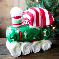 DIY Diaper Train Gift