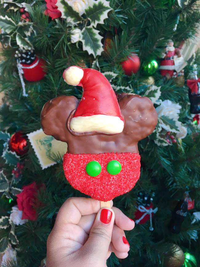 A delicious list of some of The Best Disneyland Holiday Treats! From Candy Cane Mickey Mouse Beignets to the Festival of Holidays Yule Log, there's something for everyone!