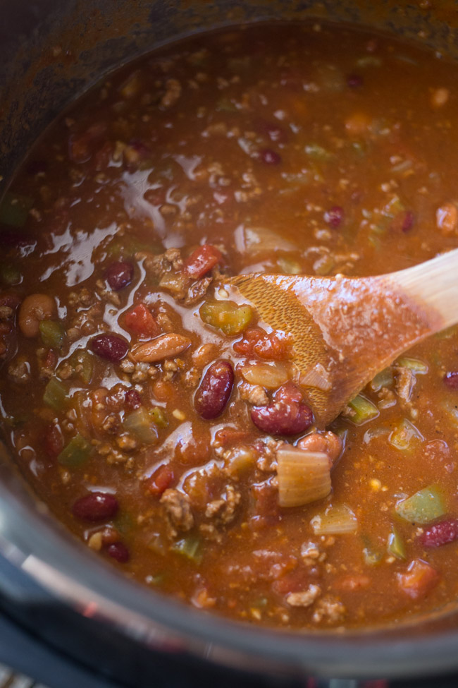 Instant Pot Wendy's Copycat Chili