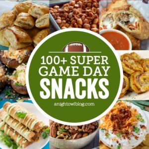 100 Super Game Day Snacks FEATURE
