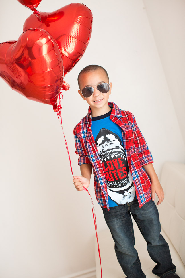 Love is in the air in classic reds, heart designs and supersoft layers with Gymboree's new Cozy Valentine collection!