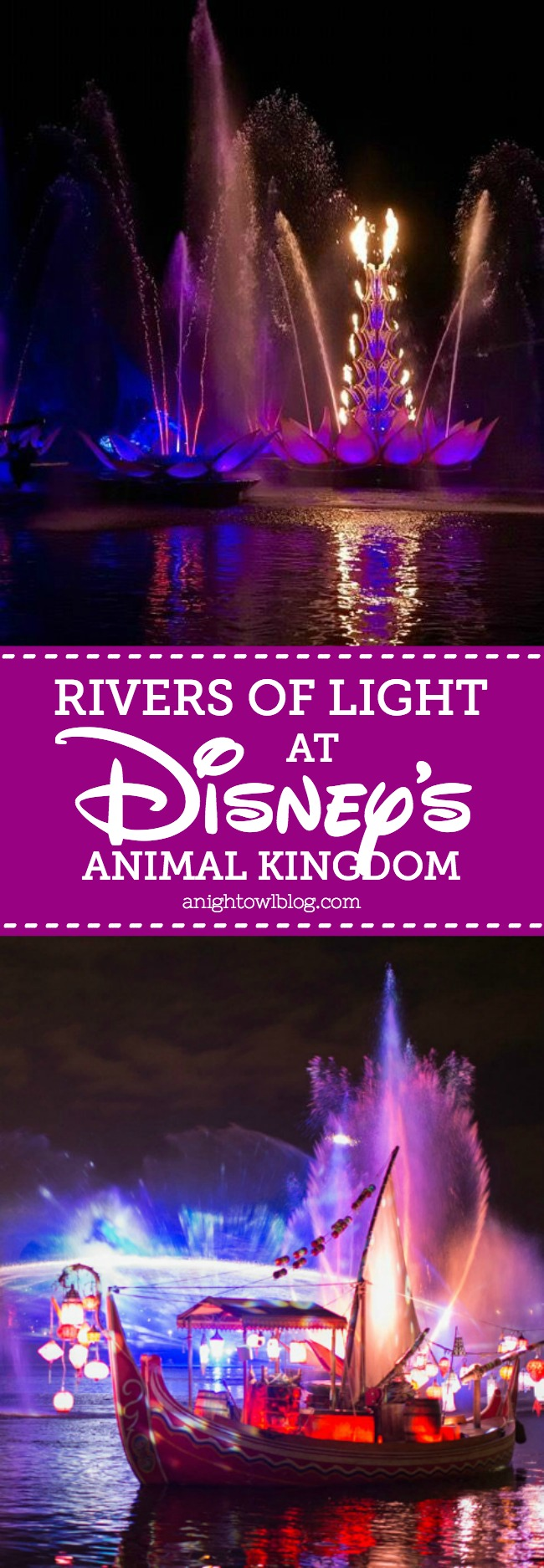 "We're closer than ever to the debut of ""Rivers of Light,"" the newest nighttime offering that's set to debut at Disney's Animal Kingdom on February 17th. Today we have a sneak peek to share with you from our preview at Disney's Social Media Moms Celebration."