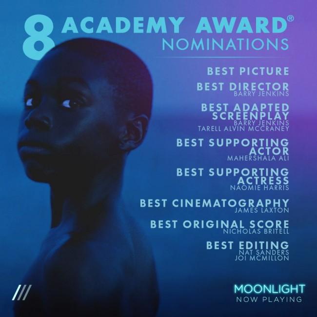 Best Picture Nominee Moonlight