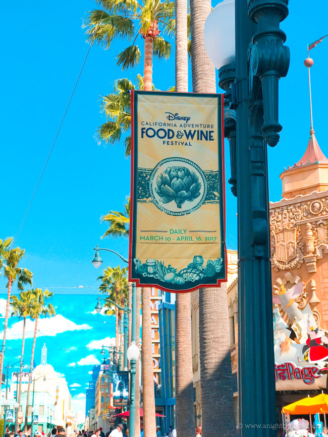 From small bites to wine flights, discover 10 Reasons to go to the Disney California Adventure Food & Wine Festival!