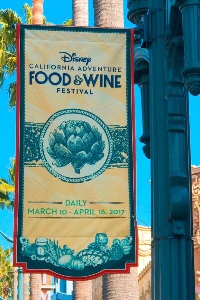 10 Reasons to go to the Disney California Adventure Food & Wine Festival!