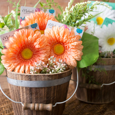 Looking for inspiration for your teacher's gifts this year? Head to Michaels Stores to get everything you need to make these Gift Card Flower Pot Teacher Appreciation Gifts!