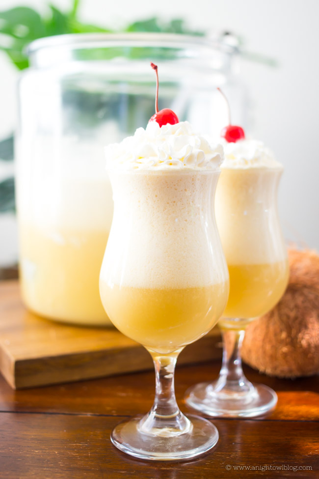 If you love Pina Coladas...then you're going to love this Pina Colada Punch! Easy to make and perfect for parties!