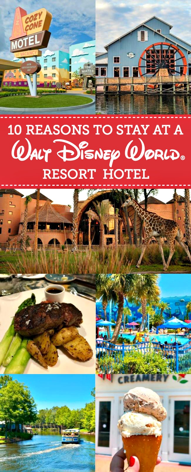 From Disney's Magical Express to Extra Magic Hours, we're sharing 10 Reasons to Stay at Walt Disney World® Resort!
